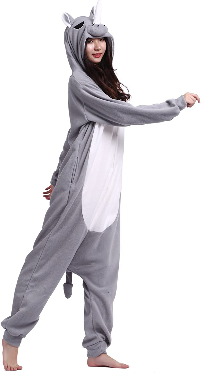Unisex Adult Animal Cosplay Costume Onesie Pajamas Nightwear