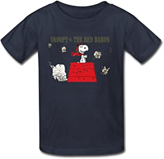 Youth Summer Unique Snoopy Vs The Red Baron T-Shirt