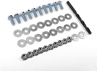 Hardware Kit M8 Bolts Nuts Washers Drill Front Bumper Lip Splitter Sideskirt Extensions Installation by IKON MOTORSPORTS