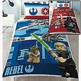 Lego Star Wars Kampf Einzel Bettwäsche Polybaumwo