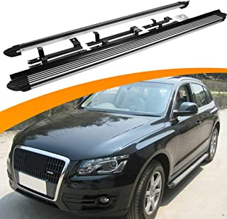 SnailAuto Side Step Fit for Audi Q7 2016-2019 Running Board Nerf Bar Platform Iboard