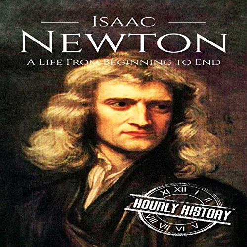 『Isaac Newton: A Life from Beginning to End』のカバーアート