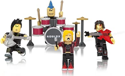 Roblox Mix & Match Action Figure 4 Pack, Punk Rockers