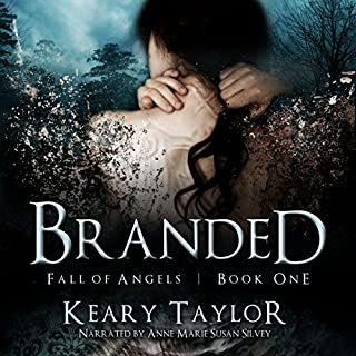 Branded audiobook cover art