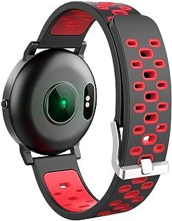 Leewa WSmart Watch Activity Heart Rate Monitor Fitness Tracker Wristband Pedometer Red
