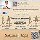Natural Foot Orthotics Inserts for Plantar Fasciitis, Support Shoe Insert, Feet/Heel/Back/Joint Pain Relief, Walk, Run, Fit Shoes/Boots/Heels Insoles Good for Med to High Arches , Made in The USA #1