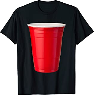 Red Solo Cup T-shirt, Party Beer Drinking Tee by Zany Brainy