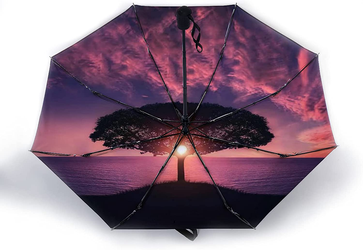 Automatic Umbrella Compact Travel Keeps Safe and Max 79% OFF San Antonio Mall You Dr