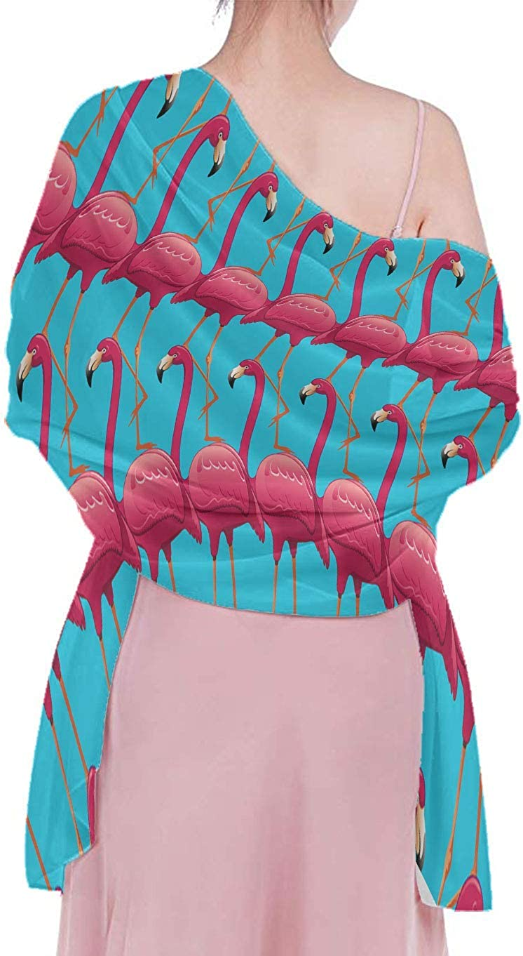 Stylish Luxurious Silk Scarves Vacasion New Year Party Scarf Wrap Shawl