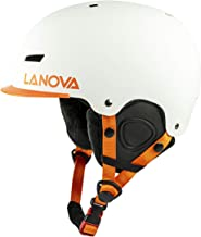 LANOVAGEAR Kids Youth Adult Snow Ski Snowboard Helmet with Fleece Liner