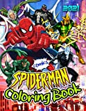 Spider-Man Coloring Book: SpiderMan 2021 Ultimate Pictures For Kids...
