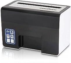 $492 » Blacklight Desktop Mini Small Electric Paper Shredder Home Office 5-Level Confidential granular Silent Shredder