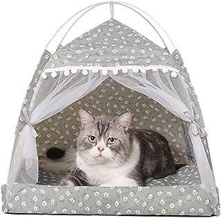 Nrkin Tipi tält för husdjur hundtält katttält sällskapsdjur tält hus avtagbar och tvättbar andningsaktiv husdjurssäng säll...