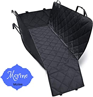 Dog Seat Cover Car Seat Cover for Pets 100% Waterproof Pet Seat Cover Hammock 600D Heavy Duty Scratch Proof Nonslip Durabl...