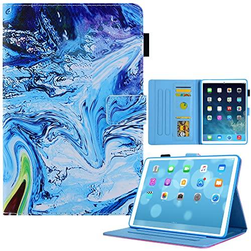 Funda de piel Kom-Fit iPad Mini 6, suave TPU interior pintado de cuero delgado y elegante, función atril, función de encendido automático/sueño para nuevo iPad Mini 6 2021 (8.3 pulgadas), modelo 10