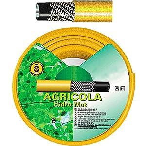 SATURNIA 8071010 Manguera Amarillo Hidro Mat 19 mm. – 3/4″ Rollo 50 Metros