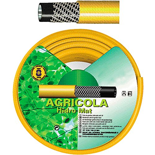 """SATURNIA 8071010 Manguera Amarillo Hidro Mat 19 mm. - 3/4\""""   Rollo 50 Metros"""