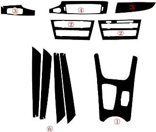 Accesorios de dise/ño del autom/óvil JIERS Para BMW X3 F25 2011-2017 LHD Cubierta Decorativa manija de la Puerta de la Unidad Principal Interior del autom/óvil Caja de Almacenamiento