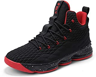 COSDN Womens Mens Fashion High-Top Lightweight Basketball Shoes Sports  Breathable Running Flyknit Youth Sneakers d84d2d249