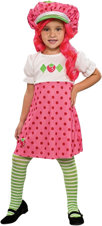 Rubies Costume Strawberry Shortcake Costume, Toddler