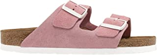 Birkenstock Arizona SFB Suede Womens Rose Sandals