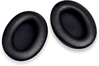 Headphones Ear Cushion Kit Replacement for Bose QuietComfort QC 15 Headphones, Ear Pads with Memory Foam for Noise Blocking and Comfortable Wearing , 1 Pair Black