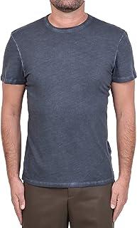 MAJESTIC FILATURES Modelo M506-HTS013 - Camiseta de algodón cachemira para hombre, color gris