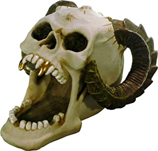Nose Desserts Halloween Voodoo Demon Devil Vampire Skeleton Skull - Open Mouth - Gifts and Decor Home Bust Statue Brand