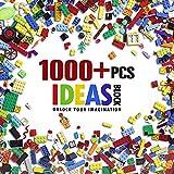 Blocs de construction Roues Pneus et essieux Ensembles 1000 pièces Briques de construction Jouets compatibles...