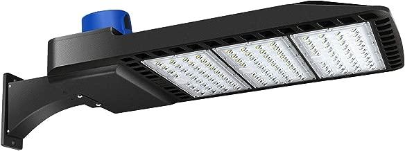 LEDMO 300W LED Parking Lot Lights Dusk-to-Dawn Photocell Sensor 1000-1200W HID/HPS Replacement Commercial Outdoor Parking Lot Lighting 36000LM 5000K100-277V UL DLC&ETL Listed