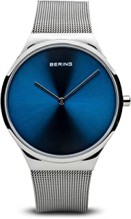 Bering Men's Analogue Quartz Watch with Stainless Steel Strap 12138-007