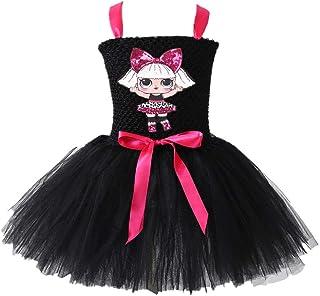b96073053aa8d5 QYS Vestito da Ragazza LOL Gonna Tutu Toddler Abbigliamento per Bambini  Regalo di Compleanno Costume da