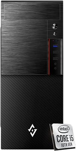 Pc de Bureau i5 CPU Intel 4.10ghz en Boost 6-Core, RAM 8 Go Ddr4, SSD 240 Go,HDD 1 TB graveur CD DVD ,Windows 10 Pro ...