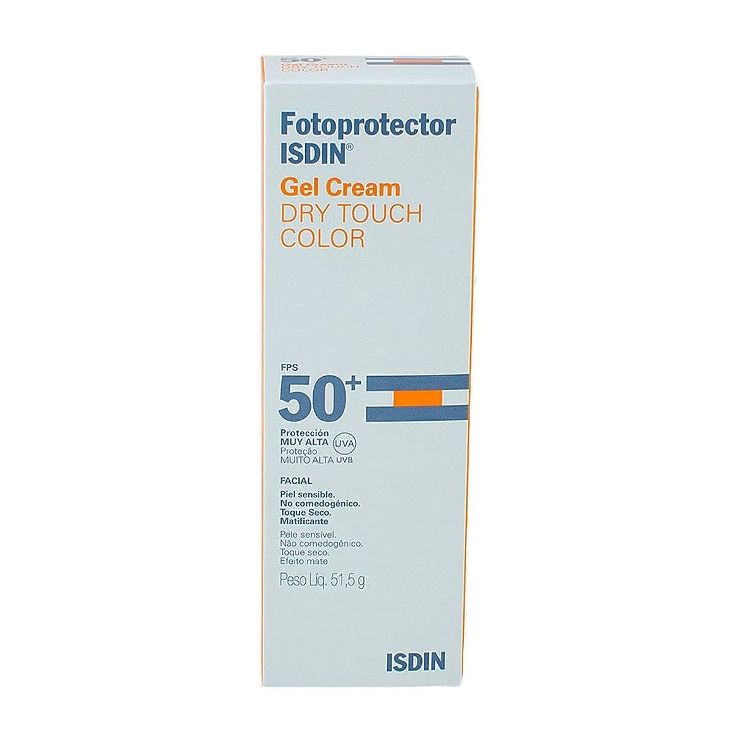 伸ばすシマウマ突き出すIsdin Sunscreen Gel Cream Dry Touch Color Spf50+ 50ml [並行輸入品]