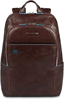 Piquadro Computer Backpack with Padded iPad Mini Compartment, Mahogany, One Size