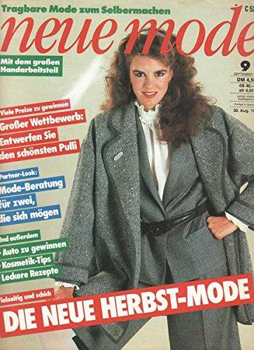 Neue Mode Nr. 09/1982 September 1982 Vielseitig und schick Die neue Herbst-Mode