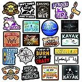 Kayak Stickers – Great Kayaking Accessories – Waterproof Stickers for Kayak – Kayak Decals- 100% Waterproof Vinyl Stickers