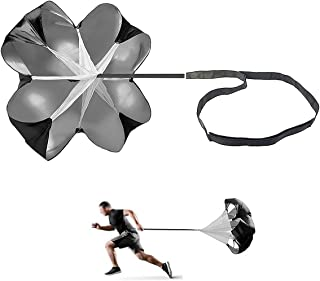 JEELAD Speed Training Resistance Parachute Running Chute Power for Football Overspeed Training