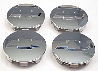 Autocaps Gosweet CV075 4X Brand NEW Four Pieces Chrome Wheel Center Hub Cap for Chevy 2005-2013 Chevrolet 3.25