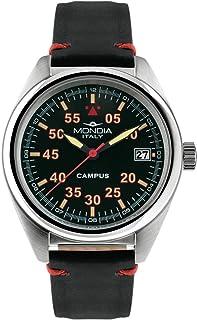 Mondia Campus Tutor Mens Analog Japanese Quartz Watch with Leather Bracelet MI748-1CP