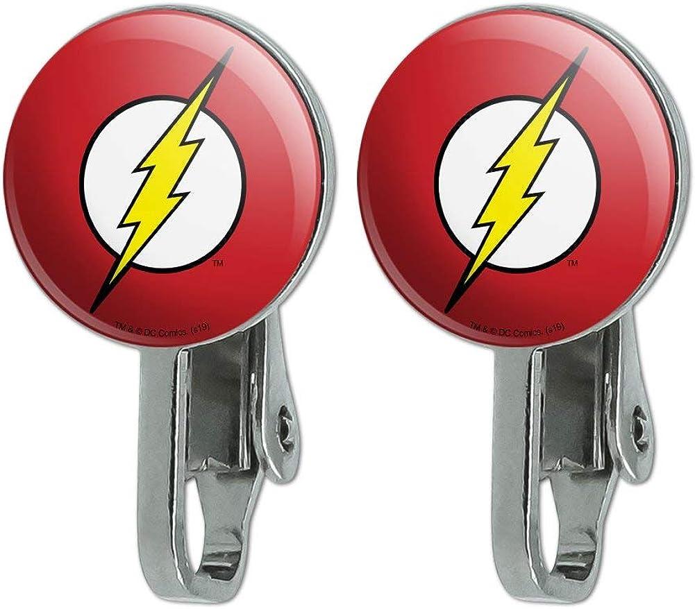 GRAPHICS  MORE The Flash Lightning Bolt Logo Novelty Clip-On St