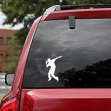 9.5X13.3Cm Chicos guapos que bailan las etiquetas engomadas del coche Accesorios decorativos del coche para la etiqueta engomada de la ventana del ordenador portátil del coche