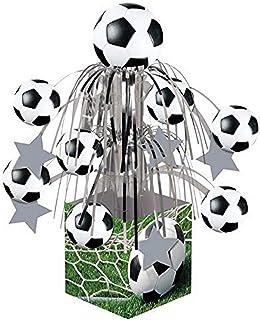 Creative Converting Sports Fanatic Soccer Centerpiece Mini Cascade with Base