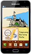 Samsung N7000 Galaxy Note Unlocked Android Smart Phone with 16GB Internal Memory, 8MP Camera, HD Video, Super AMOLED Touch Screen, Bluetooth and Wi-Fi - Black