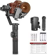 zhi yun Crane 2 with Servo Follow Focus, 2018 New Package 3-Axis Gimbal Stabilizer for DSLR Camera Zhiyun-tech Crane-2, Black
