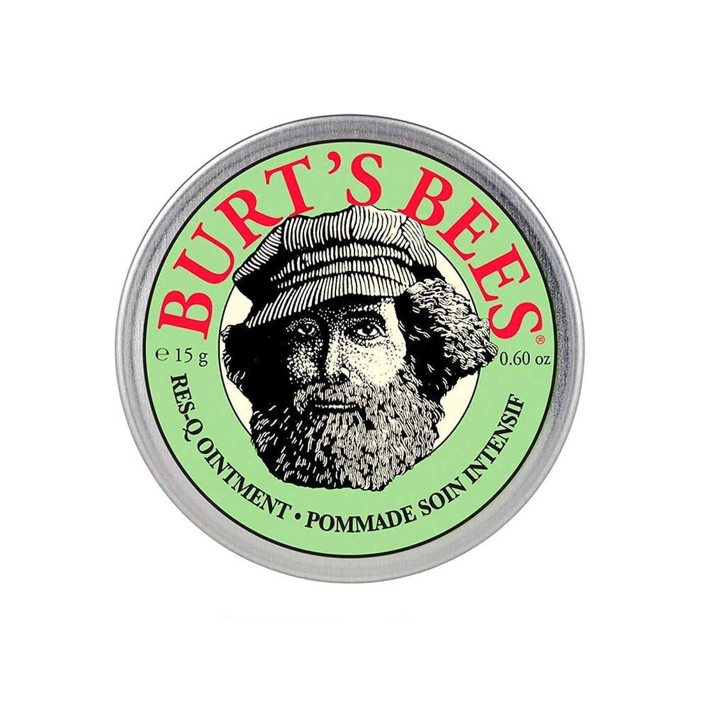 耐えられない繕う液化するバーツビーズ(Burt's Bees) レスキュー オイントメント 15g [100%ナチュラル、軟膏] [海外直送][並行輸入品]