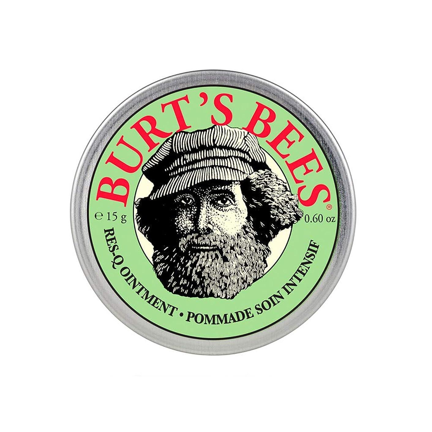イデオロギー申請者ピアノバーツビーズ(Burt's Bees) レスキュー オイントメント 15g [100%ナチュラル、軟膏] [海外直送][並行輸入品]