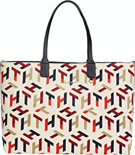 Tommy Hilfiger Iconic Tote Mono Embr AW0AW101180GY Handtasche Shopper