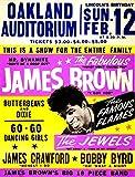 James Brown Konzert-Poster Blechschild Wanddekoration