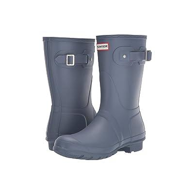 Hunter Original Short Rain Boots (Gull Grey) Women